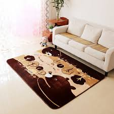 thicken bear children bedroom rugs and carpets hand carved kids play game mat study room area rug living room carpet