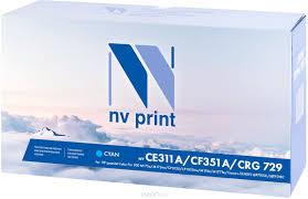 <b>Картридж NV Print CE311A</b>/CF351A/729C, голубой, для ...
