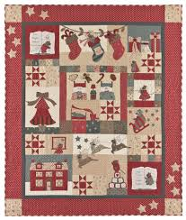 The Night Before Christmas - Block of the Month - Patterns & The Night Before Christmas Adamdwight.com