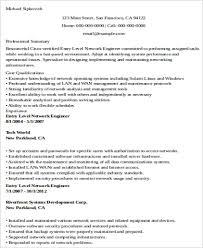Entry Level Network Engineer Resume Sample Entry Level Network Engineer Resume 7 Thatretailchick Me