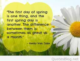 first day of spring images quotes and sayings