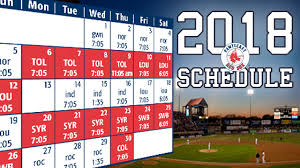 opening weekend starts friday evening april 6 and continues saay and sunday afternoons red sox triple a affiliate will host yankees triple a