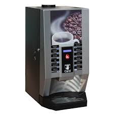 Instant Coffee Vending Machine Simple Products China Vending Equipments Limited