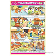 Cleanliness Chart For School Ibd Community Cleanliness Educational Children Learning