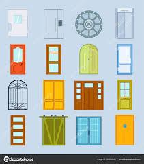 Door Vector Design Doors Vector Design Furniture Elements Doorway Front