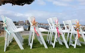 beach wedding chairs. 4 Beach Wedding Decor Starfish Chair Decorations With Satin And Sheer Ribbons - Choose From Ribbon Colors Ceremony/Beach Reception Chairs