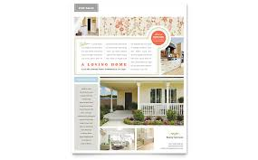 Real Estate Home For Sale Flyer Template Word Publisher