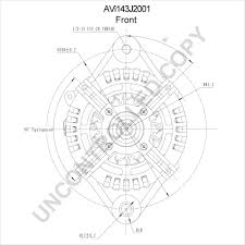 Avi143j2001 front dim drawing
