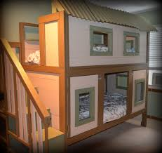 House Bunk Bed Tree House Bunk Beds For Kids Homesfeed