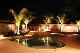 swimming pool lighting design. Plain Lighting Image Of Swimming Pool Backyard Lighting Ideas On Design D