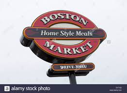 A Boston Market Casual Dining Chain Restaurant Stock Photo