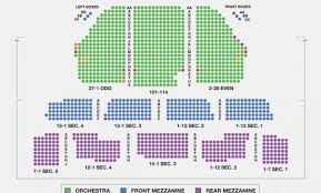 Gammage Seating Chart 25 Proper Seating Chart For Palace Theater Albany Ny