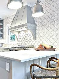 beveled arabesque tile whisper white kitchen mission stone and nationwide backsplash