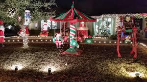 Park Row Lighting Arlington Texas Christmas
