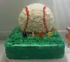 Cute Homemade Baseball Birthday Cake For My Boyfriend