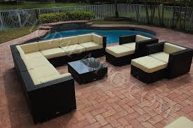 image modern wicker patio furniture. AKOYA Wicker Collection. 12 Piece Modern Outdoor Patio Furniture Image Modern Wicker Patio Furniture T