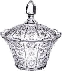 <b>Конфетница Lefard Muza Crystal</b>, 17 х 17 х 20 см, 695-017