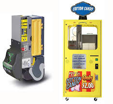 Candy Machine Vending New Cotton Candy Vending Adds MEI Recycler Hails OneShow Response