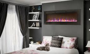 wall hanging electric fireplaces