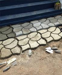 quality making concrete molds stepping stones diy stone pavement mold for pathways garden plastic paving moulds