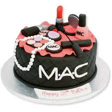 makeup birthday cake ideas