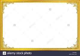 Image Border Clipart Vintage Frame Retro Decoration Corner Template Designgold Photo Frame With Corner Line Floral For Alamy Gold Frame Border Stock Photos Gold Frame Border Stock Images Alamy