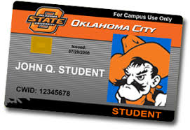 City State Id Oklahoma Card Student University-oklahoma