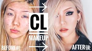 how to look like a kpop star cl makeup transformation tutorial 씨엘 메이크업 vivekatt