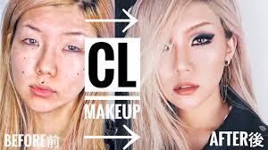 how to look like a kpop star cl makeup transformation tutorial 씨엘 메이크업 vivekatt