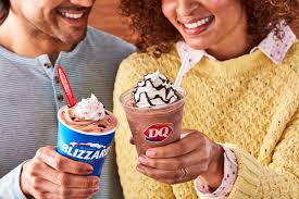 I think your dairy queen may be to blame. Dq S Peppermint Hot Cocoa Blizzard Will Get You In The Holiday Spirit