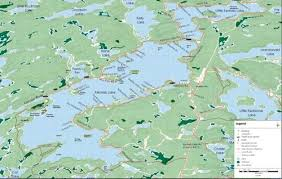 Maps Kennisis Lake Cottage Owners Association