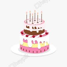 Vector Hand Drawn Birthday Cake Image Png Clip Art And Vector Ai