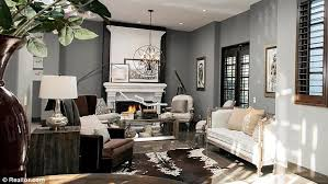 meagan home office. Consistent: The Walls Are Painted In Subdued But Fashionable Hues Of Grey, White And Meagan Home Office