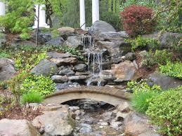 Fabulous Backyard Pond Ideas With Waterfall 75 Relaxing Garden And Backyard  Waterfalls Digsdigs