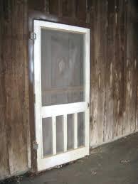 screen door ideas wooden kit vintage aluminum for wood storm doors with glass panels
