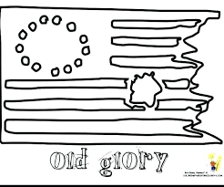 First American Flag Coloring Page The United States Of Flag Coloring
