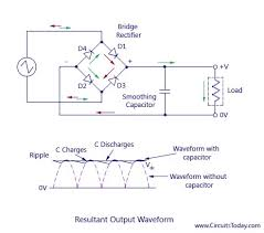 full wave rectifier bridge rectifier circuit diagram with design full wave bridge rectifier wiring diagram at Bridge Rectifier Wiring Diagram