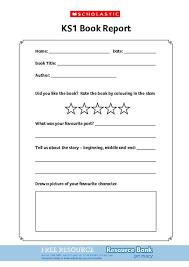 Ks1 Book Report Scholastic Shop