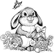 If you like japanese tv shows and cartoons, you will love our gacha life coloring pages. Easter Bunny Coloring Page For Adults Bunny Coloring Pages Easter Bunny Colouring Easter Coloring Pages