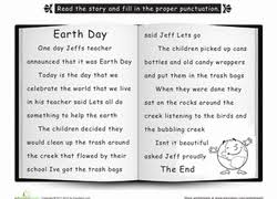 earth day worksheets printables com punctuate the story earth day