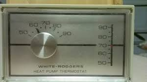 replacing a mercury thermostat no letters the odd little happy white rodgers face plate