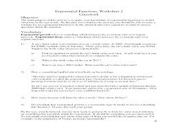 exponential worksheet exponential growth and decay worksheet collection of free exponential growth and decay worksheet answers