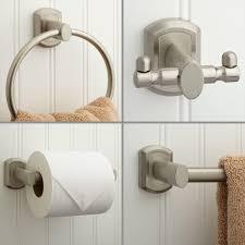 modern bathroom accessories sets. Modern Bathroom Hardware, Pfister Btb Md3c 3 Piece Cool Design Of Brushed Nickel Accessories Sets