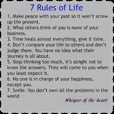 Download 40 Rules Of Life Quote Ryancowan Quotes Inspiration 7 Rules Of Life Quote