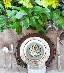 Italian Table Setting Create Rustic Italian Dinner Party Chicville Usa