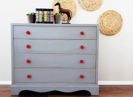 gray painted furniture bright painted furniture