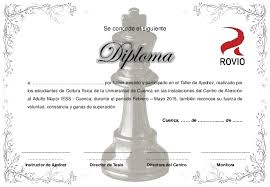 Diplomas De Ajedrez