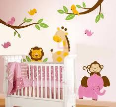 wall decal baby baby nursery decor jungles cartoon wall stickers for baby  nursery jungles cartoon wall . wall decal baby ...