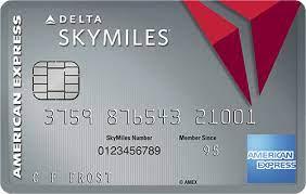 amex platinum delta skymiles credit