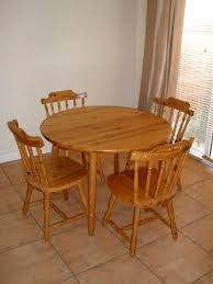 furniture solid oak table dining table dining table with leaf small round en table with round dining table set